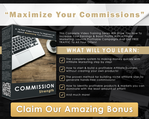 Maximize Your COmmisions